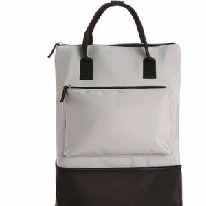 Grey Backpack or Gym Bag